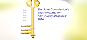 Joint Commission Top Performer in 2014